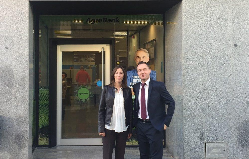 Firma de convenio entre Fundhex y La «Obra Social La Caixa» de Calamonte