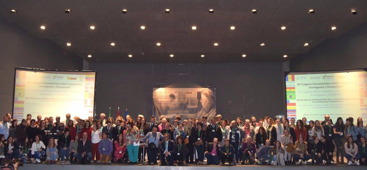 Celebrado el III Congreso Iberoamericano sobre Cooperación, Investigación y Discapacidad