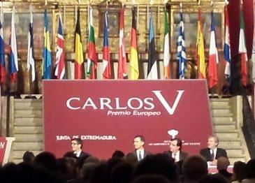 Fundhex asiste al acto de entrega del Premio Carlos V de la Fundación Academia Europea de Yuste