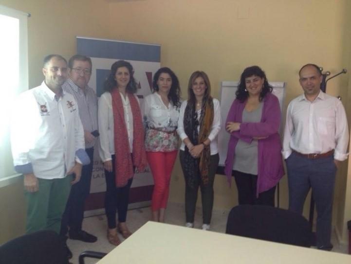 FUNDHEX participa en la reunión de la EAPN con Mª Auxiliadora Correa
