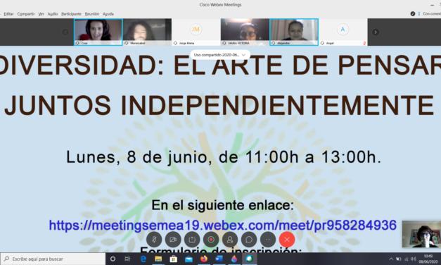 ENCUENTRO DE DIVERSIDAD: EL ARTE DE PENSAR JUNTOS INDEPENDIENTEMENTE.